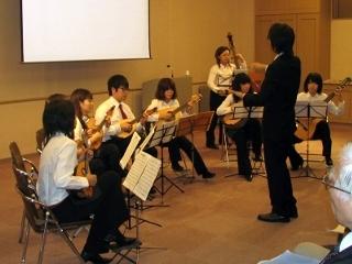 熊本大学マンドリンクラブの演奏