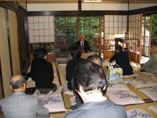 市民講座の様子(2009年11月14日)