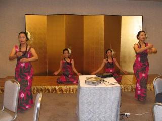 吉永フラ・ダンススクール1(2009年12月19日)