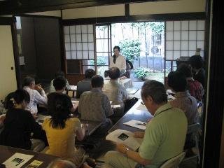 市民講座の様子(2010年7月31日)