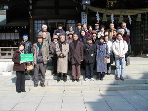 出水神社(2011年2月12日)