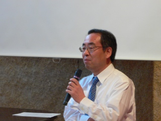 本間康夫氏(2010年5月22日)