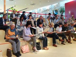 市民講座の様子(2010年5月22日)